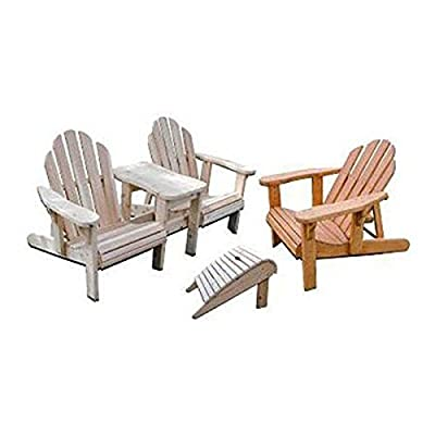 Woodworking Project Paper Plan to Build Adirondack Plan Value Pack from Woodcraft Supply