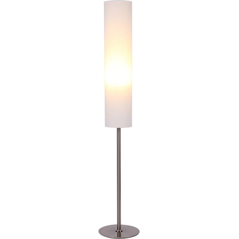 MEHE@ Mode Stilvoll Persönlichkeit kreativ Moderne stehlampe wohnzimmer schlafzimmer studie Nordic Amerikanischen kreative persönlichkeit vertikale lampe Standleuchten (Farbe : Cremeweiß)