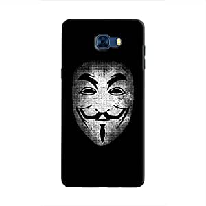 Cover It Up - Vendatta Mask Fade Galaxy C7 Pro Hard Case