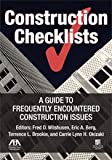 Construction Checklists, Eric A. Berg, 1604421452