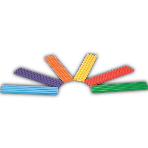 Rhythm Stick Kit (Set of 24 Multicolored Rhythm Sticks)