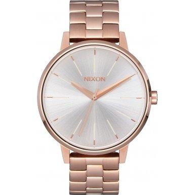 Nixon A099-1045 Ladies The Kensington Rose Gold White Watch