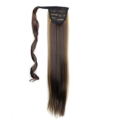 "25"" 130g Straight Synthetic Wrap Around on Ponytail for sale  Delivered anywhere in Canada"