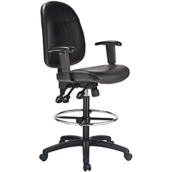 Amazon Com Harwick Extended Height Black Leather