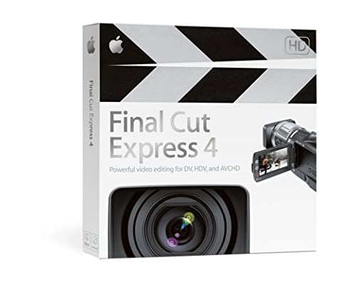 Final Cut Express 4 - Old Version (Apple Imovie Software)