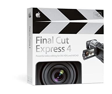 Final Cut Express 4 - Old Version