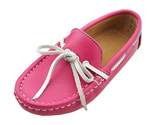 TDA , Mocassins mixte enfant - violet - rose,