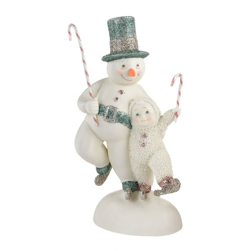 Department 56 Snowbabies Dream Collection Skater s Waltz Figurine, 7.87 inch