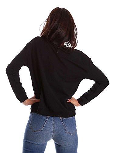 Gaudi jeans 721BD64004 Felpa Donna Nero S