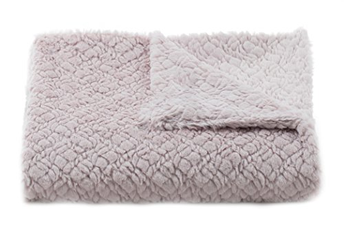 Tourance Lux Alexis Crib Blanket, Blush, 30