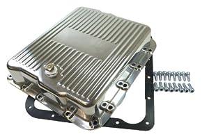 aluminum transmission pan finned Mr tranny
