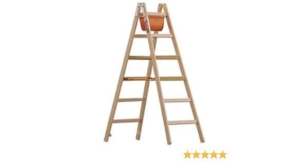 Caballete de y pintor Escalera de madera con peldaños de ancho 6 ...