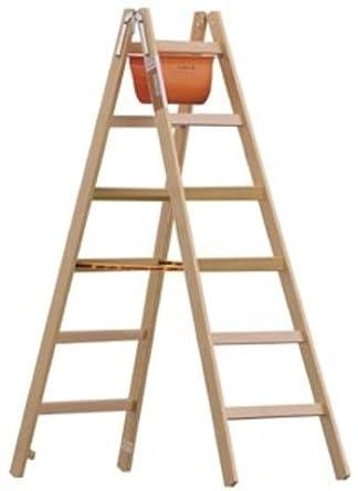 Caballete de y pintor Escalera de madera con peldaños de ancho 6 peldaños, Stand Altura 1,05 m: Amazon.es: Industria, empresas y ciencia