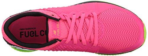 Nieuw Evenwicht Vrouwen Brandstofcel Hardloopschoen Alpha Roze / Lime Glo
