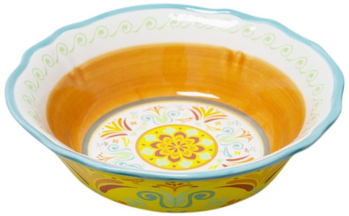 Euro Ceramica Egyptian Cereal Bowl, Set of 4