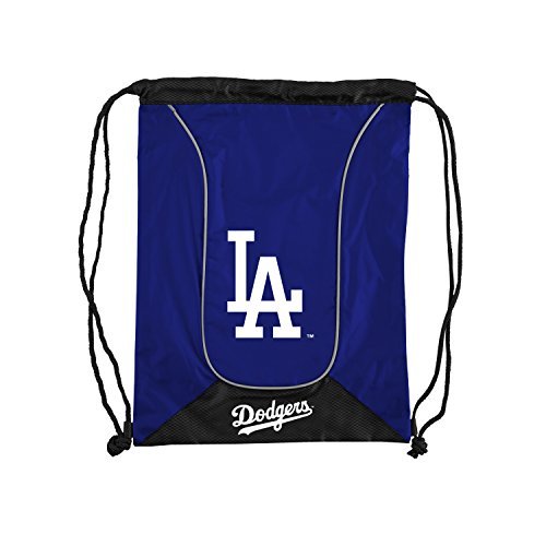 Officially Licensed MLB Los Angeles Dodgers Doubleheader Backsack, 18-Inch, Royal