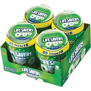 LifeSavers Wint O Green Mints 4/85 Piece Bottles