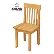 KidKraft Avalon Single Chair-Natural