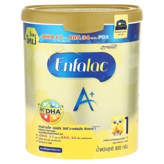Enfamil Milk Powder ,Enfalac A+ 360° Mind Plus Formula Stage 1/ (28.22 Oz/ 800g) For newborn -12 months,Contains DHA 17 Mg , ARA 34 Mg,Choline Site Acrylic Acid And Fiber Two Kinds Contains Dha