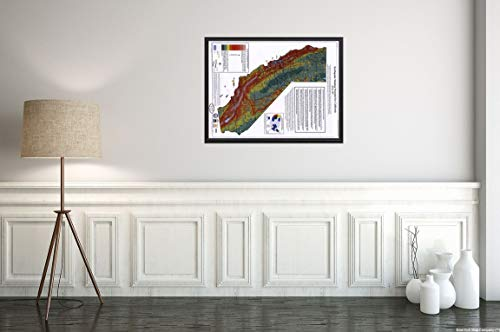 Earthquake Shaking Potential for California, Spring 2003 Seismic Safety Commission Map|18x24