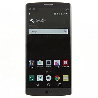 LG V10 H901 64GB 4G LTE Space Black - T-Mobile GSM Unlocked (Certified Refurbished/Good Condition)