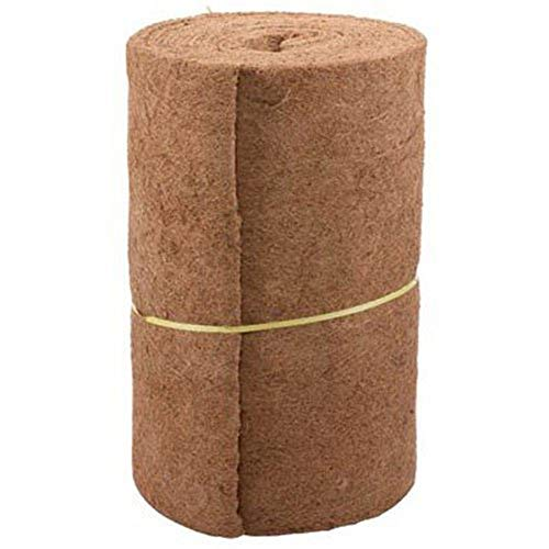 Sanmubo Coco Liner Bulk Roll Coco Fiber Roll with 24inch Width and 33inch Lenth for Home Garden Wedding