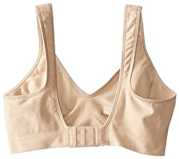 Bali Women\'s Comfort Revolution Wirefree Bra with Smart Sizes, Nude, X-Large