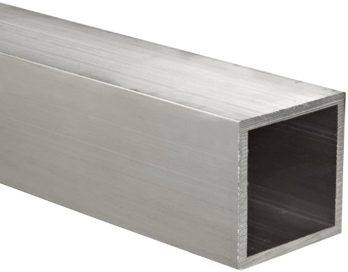 Aluminum 6061-T6511 Hollow Rectangular Bar, AMS QQ-A-200/8, ASTM B221, 2