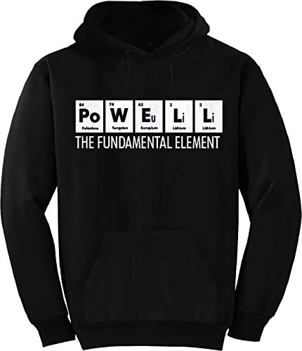 Powell The Fundamental Element Periodic Table Hoodie Black