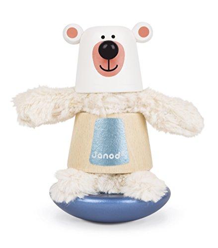 (Janod Zigolos Bear Stacker & Rocker Baby Toy )