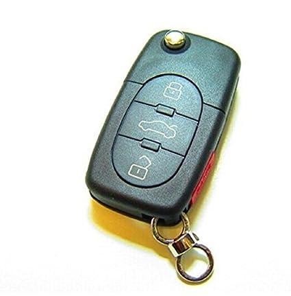Macxy alejado del coche llavero 3 + 1 botš®n para Audi A4 A6 ...