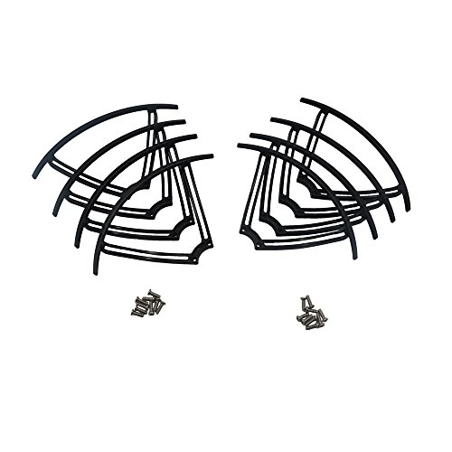 Blomiky 8 Pack Propeller Protector Guards For MJX Bugs 6 B6 B6F B6FD B8 B9 Racing Quadcopter Drone B6 Frame 2 Sets