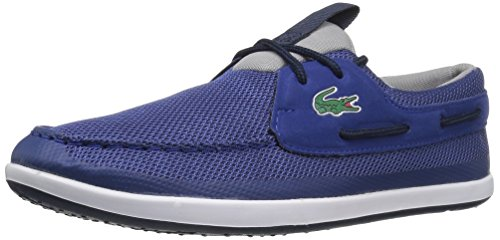 Lacoste Men's L.Andsailing 117 1 Casual Shoe Fashion Sneaker, Dark Blue, 11.5 M US