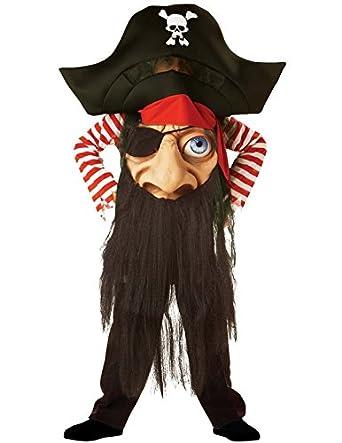 Pirate Mad Hatter (Large) Child Costume/Fancy Dress (disfraz ...
