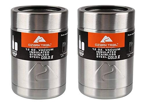 Ozark Trail 12 Ounce Double Wall Can Cooler Cup – Set of 2