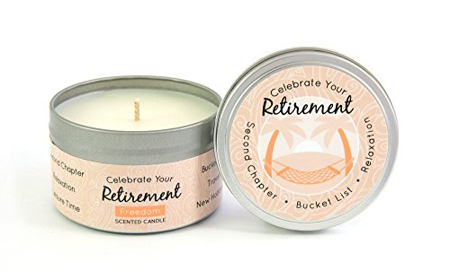 Celebrate Your Retirement Candle 6.5 oz.