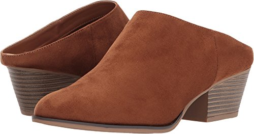 Chinese Laundry Women's Shelbi Mule Whiskey Fabric Suede