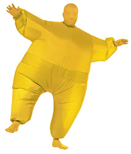 Chub Suit Inflatable Blow up Full Body Jumpsuit Costume (Yellow) (Inflatable Body Costume)