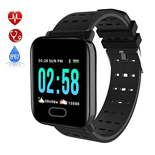 DBSCD Fitness Tracker, Movement Watch with Sleep Heart Rate Monitor, Blood Pressure Monitor, IP67 Waterproof Smart…