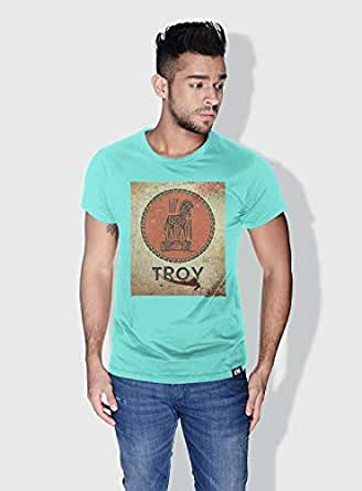 Creo Troy Movie Posters T-Shirts For Men - S, Green