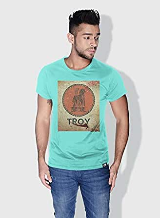 Creo Troy Movie Posters T-Shirts For Men - M, Green