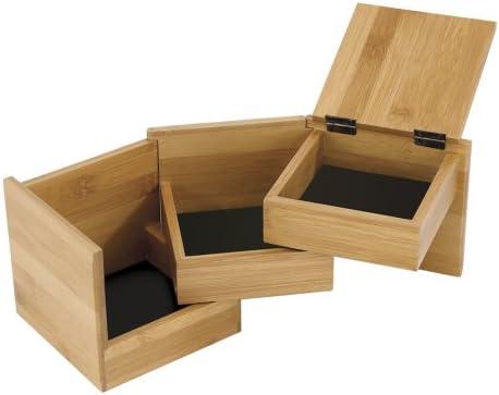 Terrace Jewlery Tray and Stowit Jewlery Box 2 Item Bundle Umbra Black Walnut Jewlery Storage Set