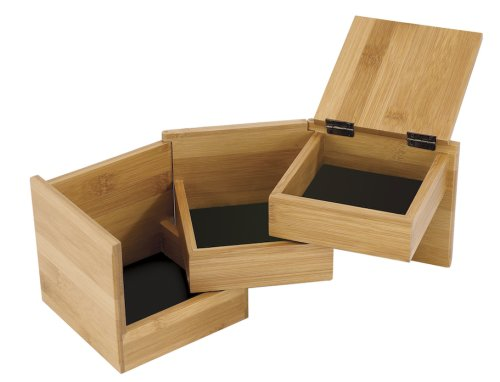 Umbra Tuck Multi-Box Jewelry Storage, Natural 299100-390