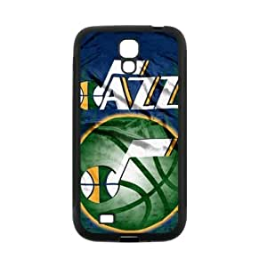 Fashionable Designed Samsung Galaxy S4 i9500 TPU Case with Utah Jazz logo-by Allthingsbasketball