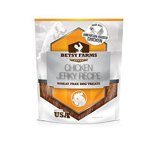 Betsy Farms Natural Chicken Jerky Recipe Dog Treats, 28 oz