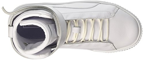 Scarpe Bianco Puma white da Ginnastica Platform White Mid Donna Basse ggvE0
