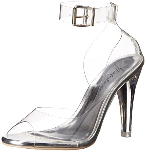 430 Transparent Pleaser Sandalias Clr Mujer Clearly Fq5qz