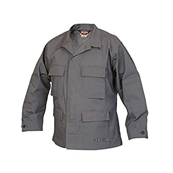 Tru-Spec Classic BDU Coat Polyester-Cotton Ripstop Charcoal XS-Reg 1306002