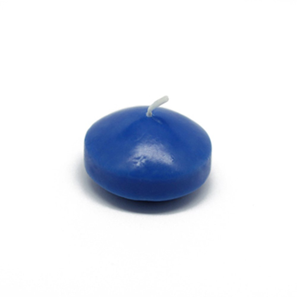 Zest Candle CFZ-013_12 288-Piece Floating Candle, 1.75'', Blue