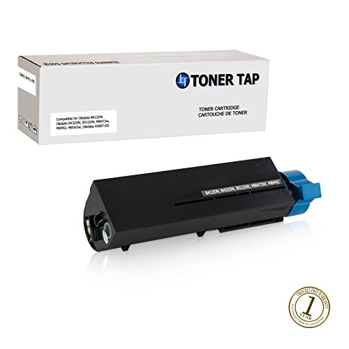 Toner Tap for Oki Data B412dn B432dn B512dn MB472w MB492 MB562w Compatible Toner Replacement High Yield